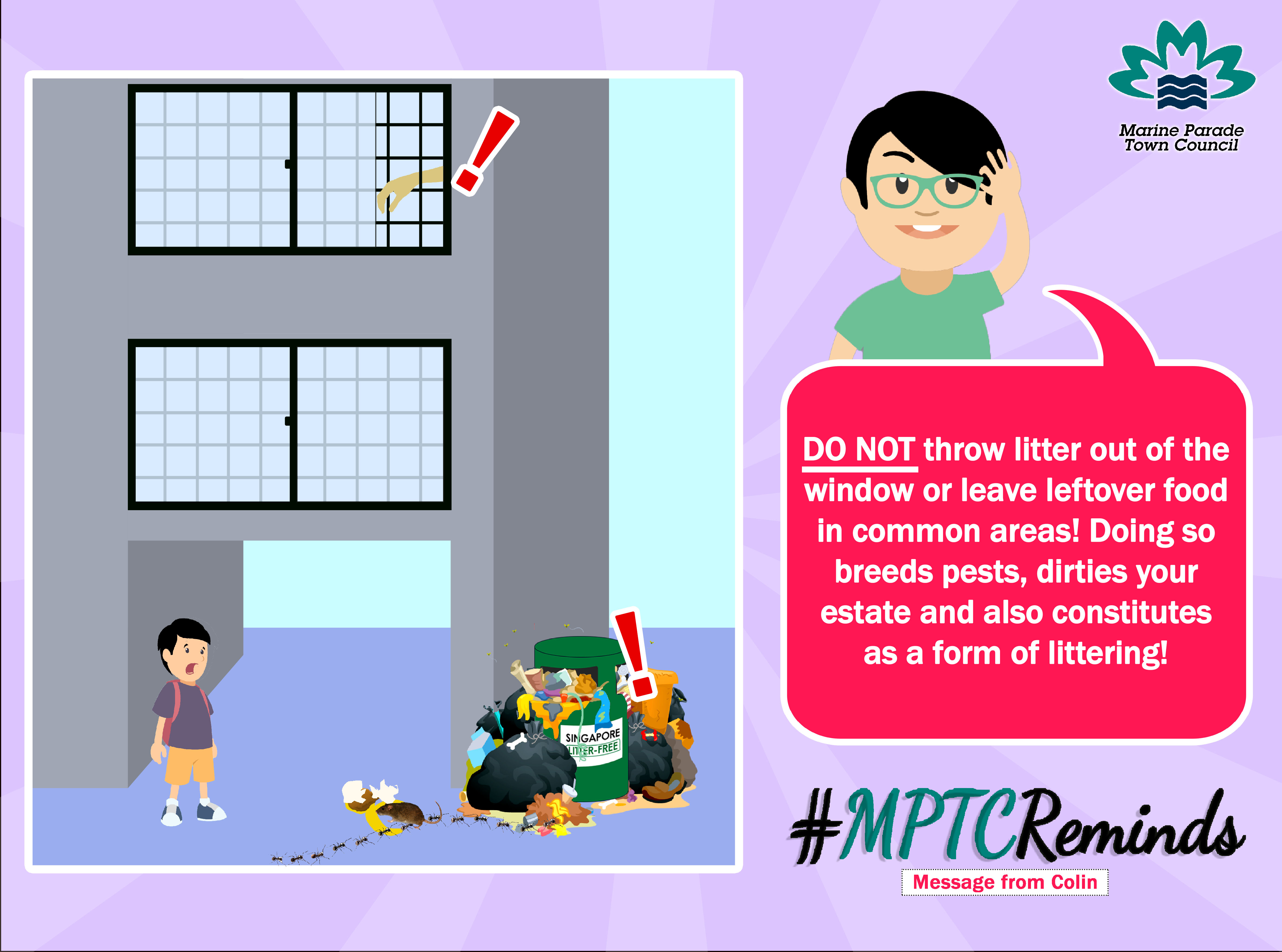 SAY NO TO HIGH RISE LITTERING!