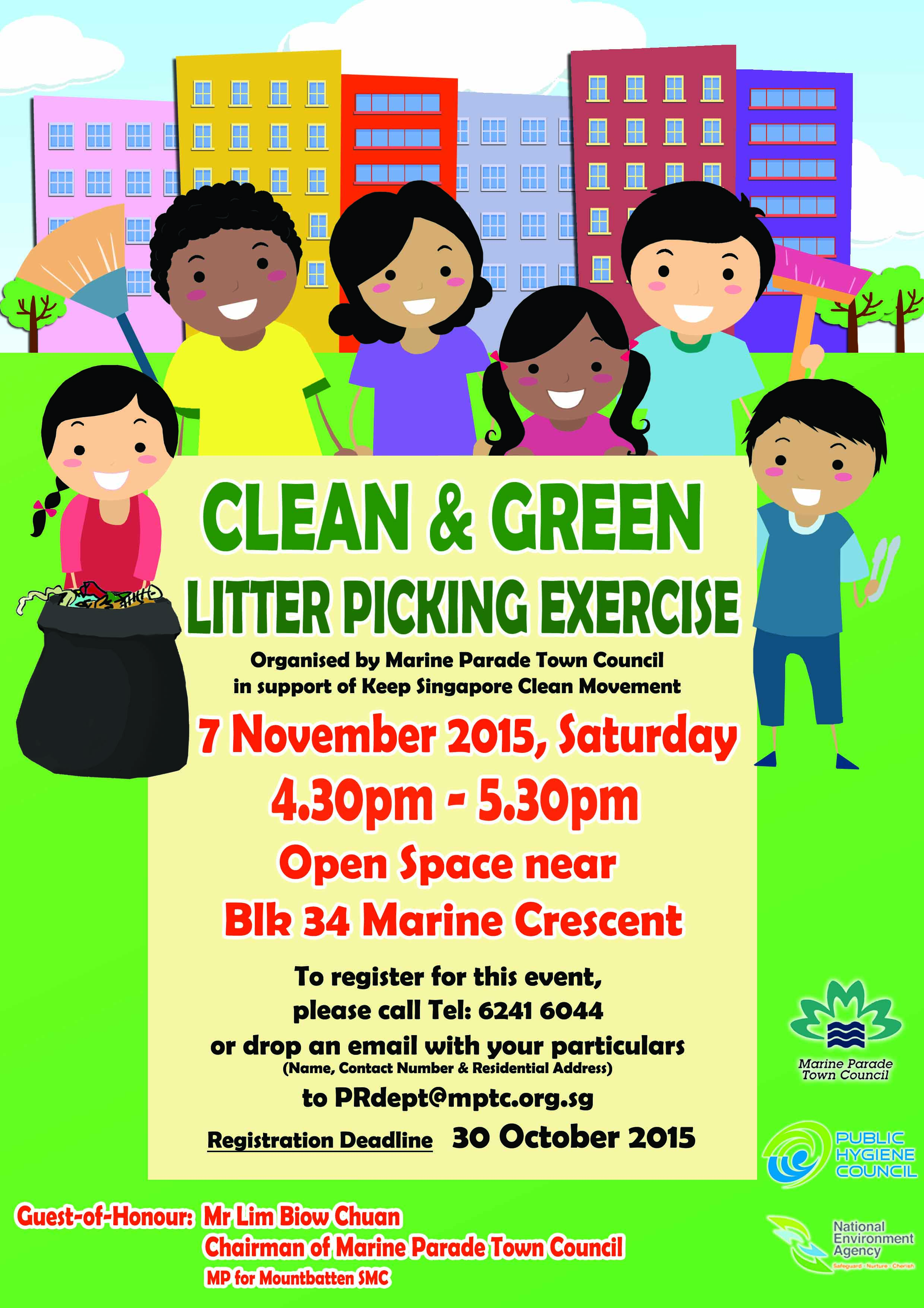 Clean & Green Litter Picking Exercise